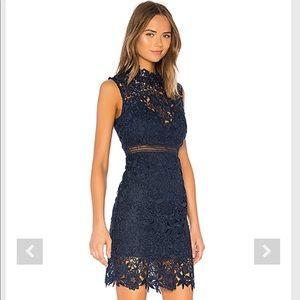 """Bardot Dresses - NWT Bardot Paris Lace Dress in """"Twilight"""". XL."""